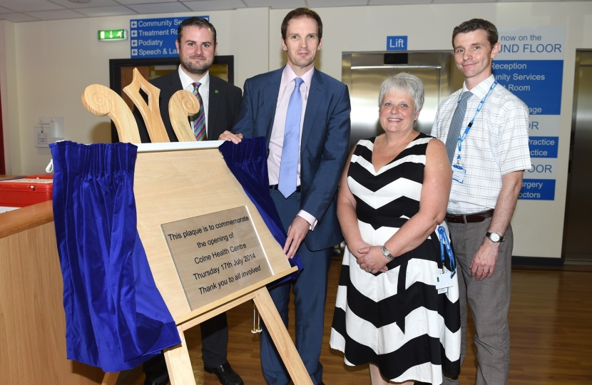 Colne Health Centre Opening