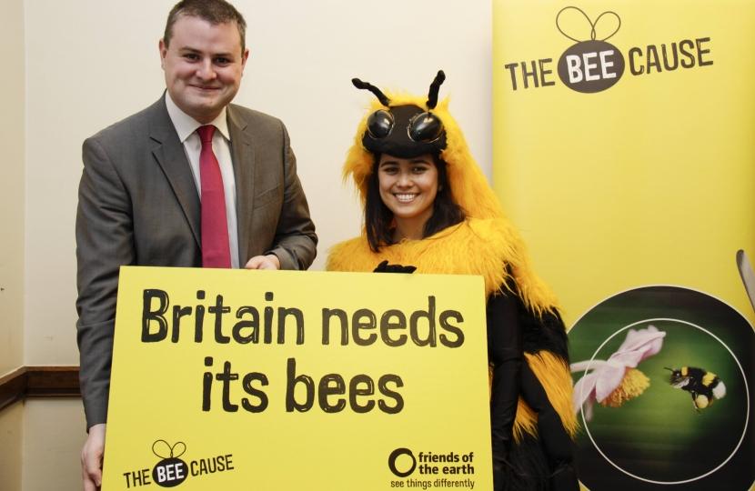 Andrew Stephenson MP backing British Bees