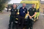 Andrew Stephenson on a 12hour shift with North West Ambulance Service